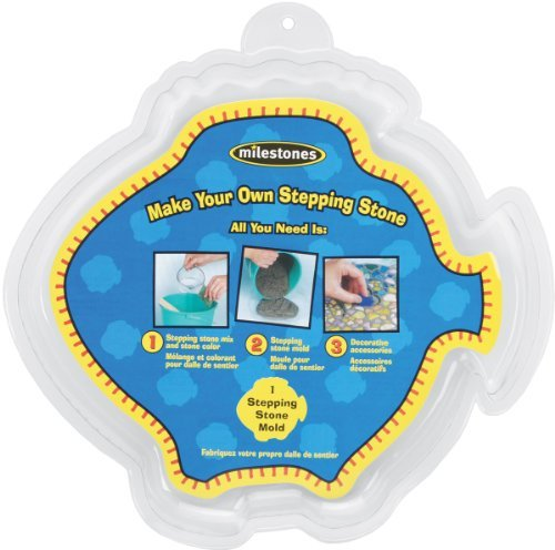 Midwest Products Large Fish Stepping Stone Mold, 12-Inch (Mosaic Fish compare prices)