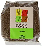 Mintons Good Food Pre-Packed Linseed Brown 250 g (Pack of 10)