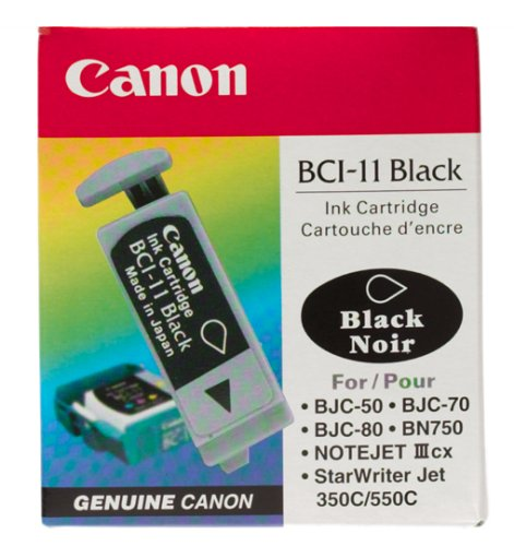 Canon BCI-11 Black Ink Cartridge (3 Tanks)