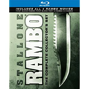Rambo: The Complete Collector's Set - Blu-ray - Save: 55%