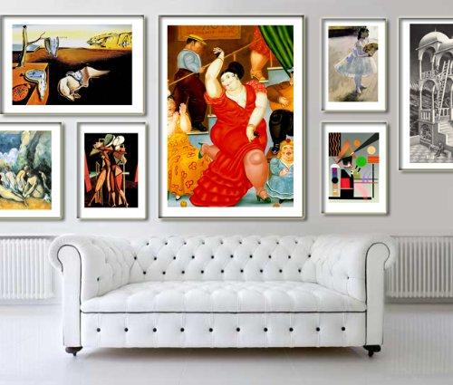 Botero cod 02 poster stampe cm 70x100 papi arte vendita for Stampe arredo casa