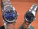 [スイスミリタリー]SWISS MILITARY 腕時計  ペアウォッチ  ELEGANT エレガント ペアウォッチ 【文字盤カラー ブルー】 ML100-ML103