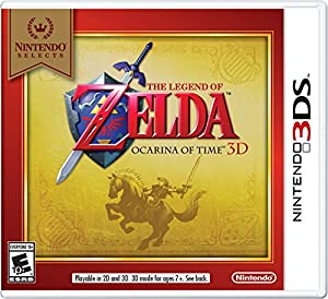 Nintendo Selects: The Legend of Zelda Ocarina of Time 3D from Nintendo