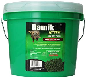 NEOGEN RODENTICIDE 45-Pack Ramik Rat and Mouse Bait Pail