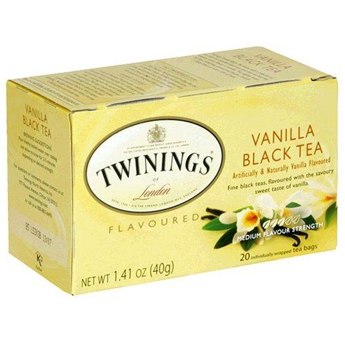 Buy Twinings Vanilla Tea, Tea Bags, 20-Count Boxes (Pack of 6) (Twinings, Health & Personal Care, Products, Food & Snacks, Beverages, Tea, Black Teas, Tea Bags)