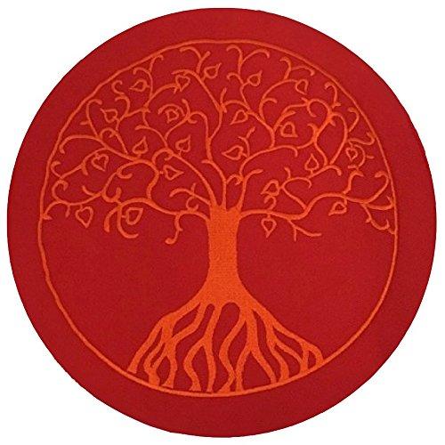 maylow-yoga-a1621r01-coussin-de-meditation-arbre-de-vie-33-x-16-cm