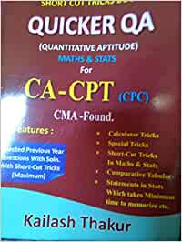 quicker qa by kailash thakur pdf