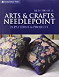 Arts & Crafts Needlepoint: 25 Pattern...