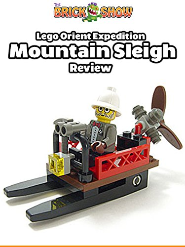 LEGO Orient Expedition Mountain Sleigh Review (7423)