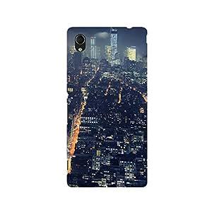 TAZindia Designer Printed Hard Back Mobile Case Cover For Sony Xperia Z5