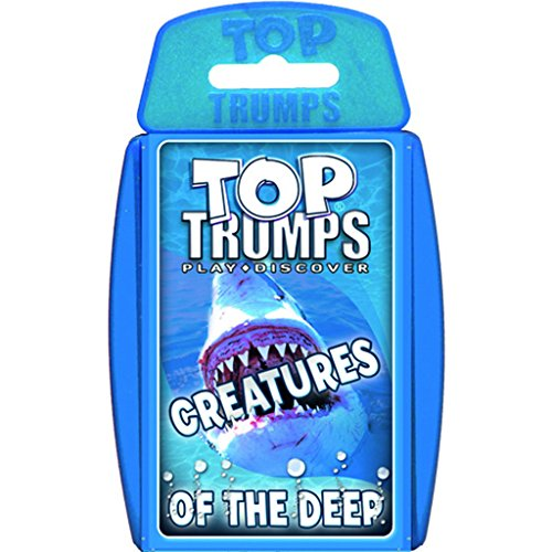 Creatures of the Deep Sea Card Game (Top Trumps Sharks compare prices)