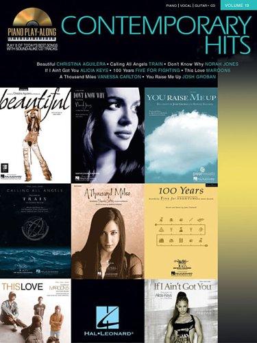 Contemporary Hits: Piano Play-Along Volume 19