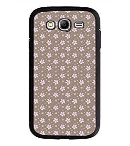 PrintDhaba Floral Pattern D-2085 Back Case Cover for SAMSUNG GALAXY GRAND NEO PLUS (Multi-Coloured)