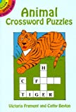 Animal Crossword Puzzles (Dover Little Activity Books)