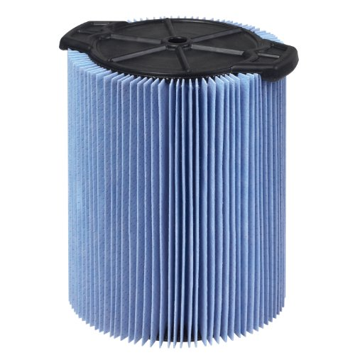 WORKSHOP Wet Dry Vac Filter WS22200F Fine Dust Wet Dry Vacuum Filter (Single Shop Vacuum Cleaner Filter Cartridge) For WORKSHOP 5-Gallon To 16-Gallon Shop Vacuum Cleaners (Shopvac Air Cleaner compare prices)