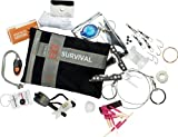 Gerber Bear Grylls Ultimate Survival Kit with Gerber Tool Light and Fishing Kit - Black