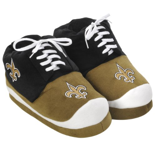 NFL New Orleans Saints 2011 Men's Sneaker Slipper Large at Amazon.com