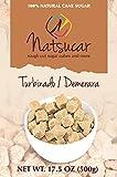 Natsucar Rough Cut Demerara Sugar Cubes (Pack of 2 - 1000g)