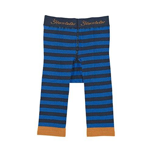 Sterntaler Unisex - Baby, Legging, 8761501 Leggins Ringel, GR. 86 (Herstellergröße: 86), Blau (300 Blue)
