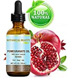 Botanical Beauty Pomegranate Oil -100% Pure / 100% Natural. For Face, Hair and Body 4 oz-120 ml