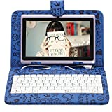 """7"""" Tablet PC 8GB Android 4.2 Dual Core Cam 1.5GHz WIFI w/Cartoon Keyboard video review"""