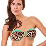 Flor de Sal Safari Fashion Bandeau Top Medium