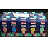 Coloured Light Bulbs ES 25w Pack of 10 - Best Reviews Guide