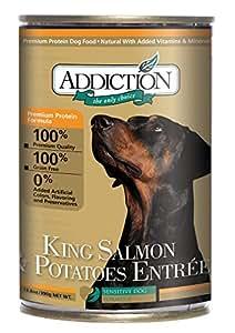 King Salmon & Potatoes Entree Grain Free Dog Food 13.8oz, 12-Pack