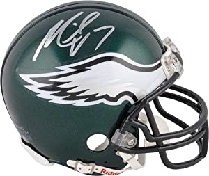 Michael Vick Signed Autograph Philadelphia Eagles Mini Helmet Authentic Certified Coa by all-star sports