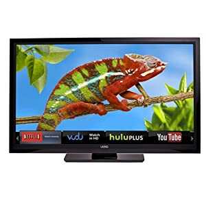 VIZIO E322AR 31.5-Inch 60Hz Class LCD HDTV with VIZIO Internet Apps (Black)