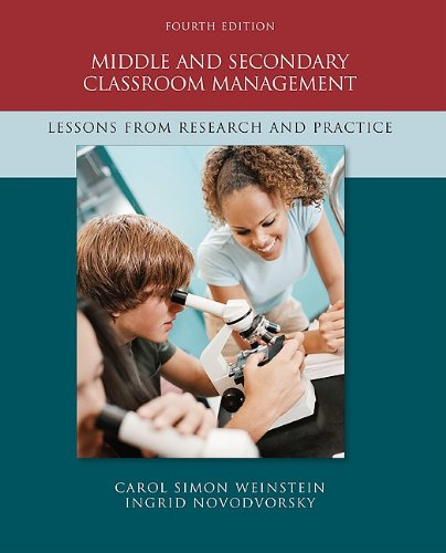 Middle and Secondary Classroom Management: Lessons from...
