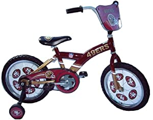 Best Bikes NFL San Francisco 49ers Kids' BMX Bike (16-Inch Wheels)