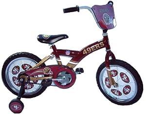 Best Bikes NFL San Francisco 49ers Kids' BMX Bike (16-Inch Wheels)