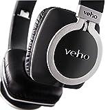 Veho 限定 デザイナーズ プレミアム アルミニウム ヘッドホン Z-8 360° フラットタイプ 脱着式 ケーブル付 VEP-008-Z8