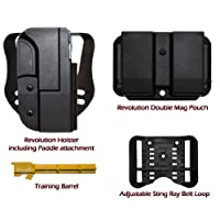 M&P 9/40 Shooters Value Pack (Straight Drop OWB Holster and Mag Pouch)