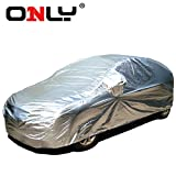 Only® Unique Innovative Car Case Car Cover Completes Within a Minute, waterproof, cotton, automobiles All-weather Series S for Sedan, fast and easy to operate, 18 seconds (S-45 Lenght 167'' to 177'', applicable models: Aston-Martin V8 Vantage 2011/2007,