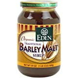 Eden Foods Organic Traditional Barley Malt Syrup -- 20oz.