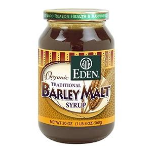 Eden Foods Organic Traditional Barley Malt Syrup -- 20oz.