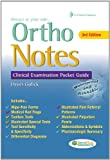 Ortho Notes: Clinical Examination Pocket Guide (Daviss Notes)