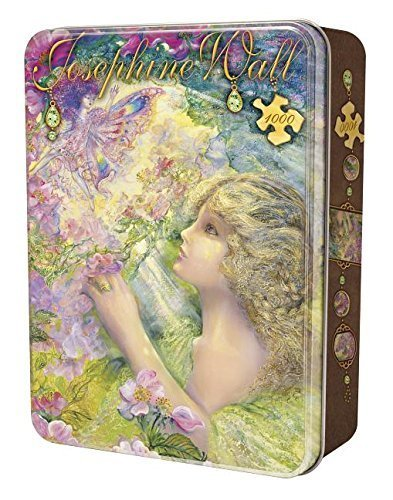 MasterPieces Puzzle Company Sweet Briar Rose Collectible Jigsaw Puzzle Tin (1000-Piece), Art by Josephine Wall by MasterPieces