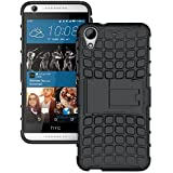 Yes2GoodHybrid Military Grade Armor Kick Stand Back Cover Case For HTC Desire 626 626G+ (Black)