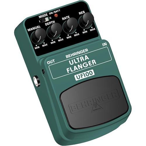 Behringer Uf100 2-Mode Flanger Effects Pedal