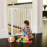 Munchkin Easy-Close Metal Safety Gate, White