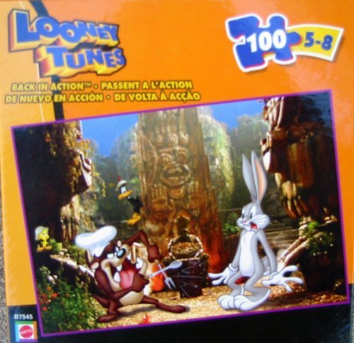 Looney Tunes Back in Action 100pc. Puzzle-Hidden Temple - 1
