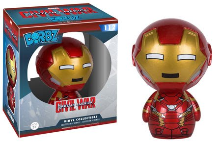 Funko Dorbz: Captain America 3: Civil War Action Figure - Iron Man