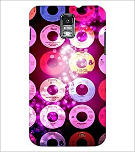 PrintDhaba CDs D-2850 Back Case Cover for SAMSUNG GALAXY S5 (Multi-Coloured)
