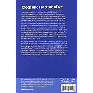 Creep and Fracture of Ice Livre en Ligne - Telecharger Ebook