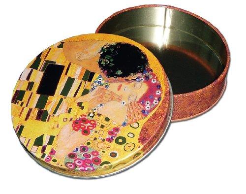 """Untersetzer für Gläser """"Gustav Klimt"""", aus Kork"""