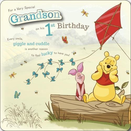 Popular Birthday Wishes Cards for Grandson Grandson 1st Birthday – Special 1st Birthday Cards