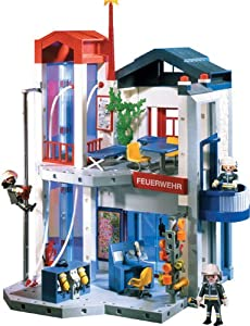liste divers de maxence l playmobil pompiers caserne top moumoute. Black Bedroom Furniture Sets. Home Design Ideas